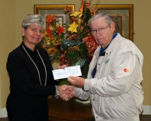 Golf Donation Check 01-07-14